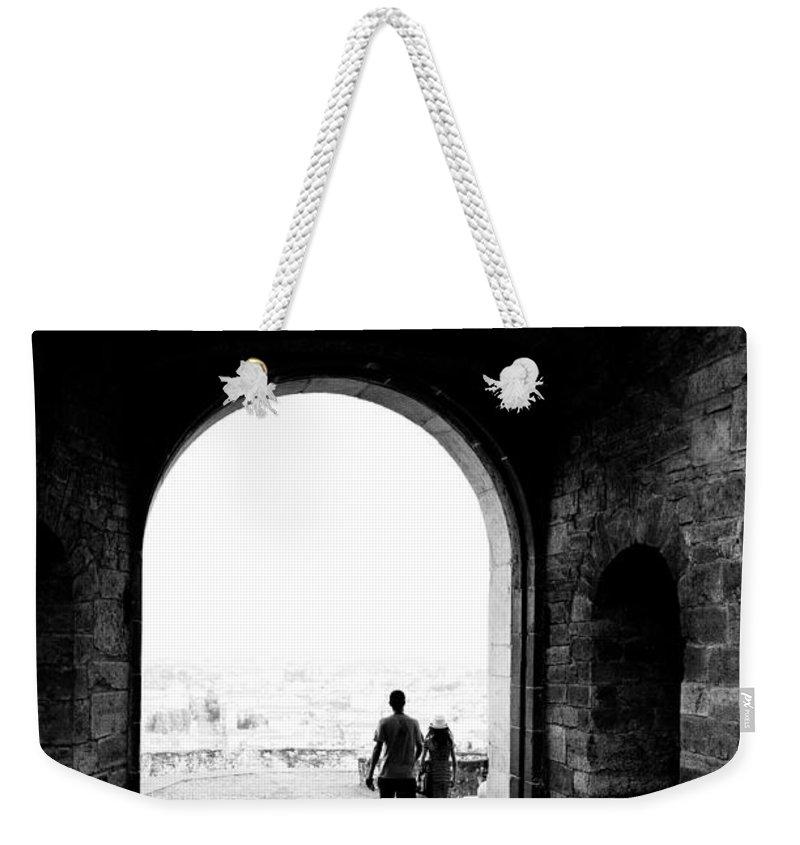 Alfio Finocchiaro Weekender Tote Bag featuring the photograph Bergamo Alta by Alfio Finocchiaro