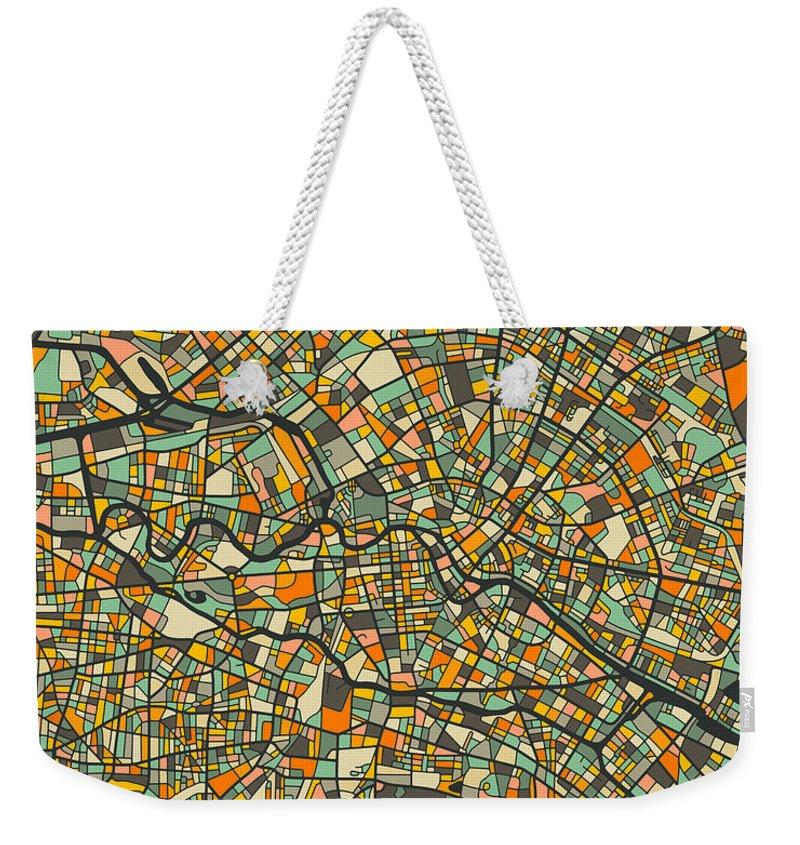 Berlin Weekender Tote Bags