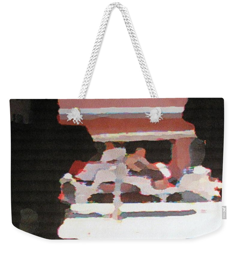 Bermuda Weekender Tote Bag featuring the photograph Bermuda Carriage Impressions by Ian MacDonald