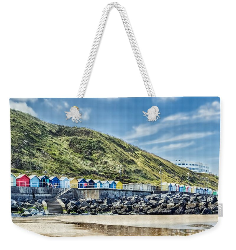 Sheringham Weekender Tote Bag featuring the photograph Beside The Seaside by Nick Bywater