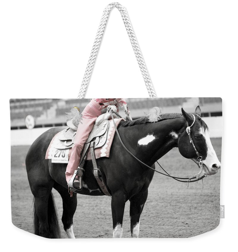Americana Weekender Tote Bag featuring the photograph Best Friends by Marilyn Hunt