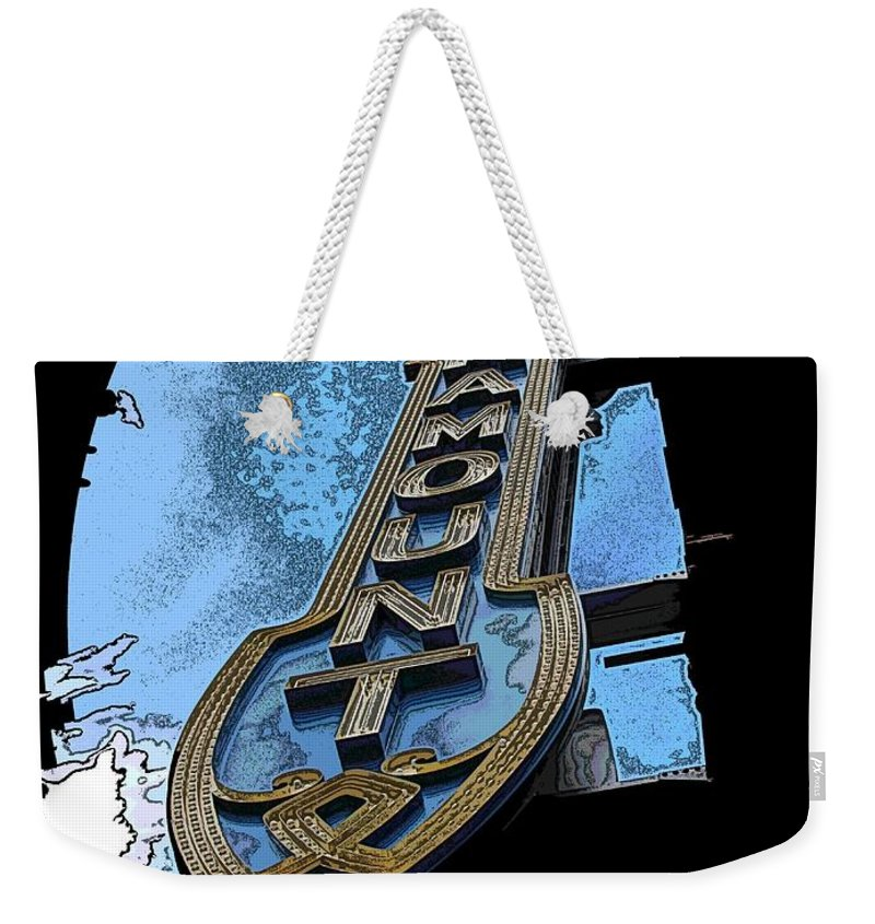 Paramount Weekender Tote Bag featuring the digital art Best Of Show by Tim Allen