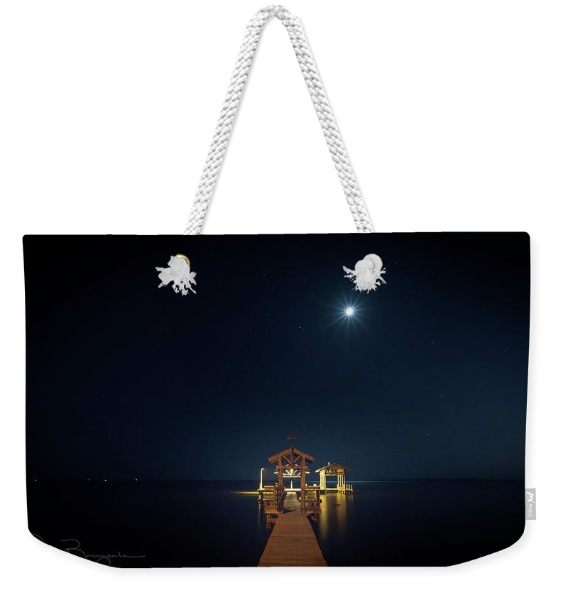Landscape Weekender Tote Bag featuring the photograph Bethlehem On The Bayou by Scott Breazeale
