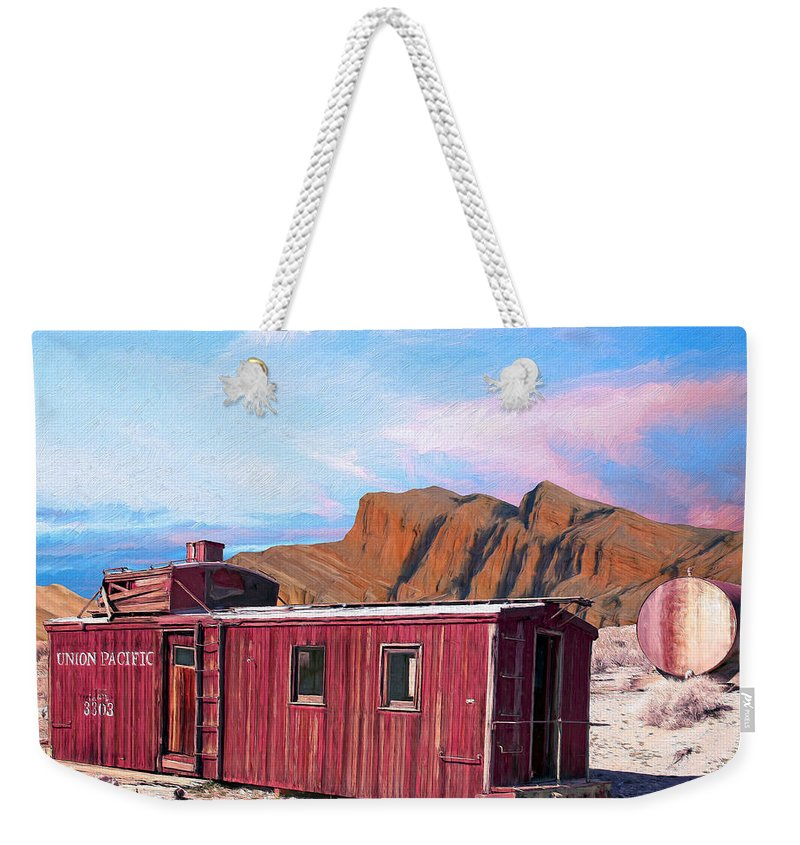 Better Days Weekender Tote Bag featuring the painting Better Days by Dominic Piperata