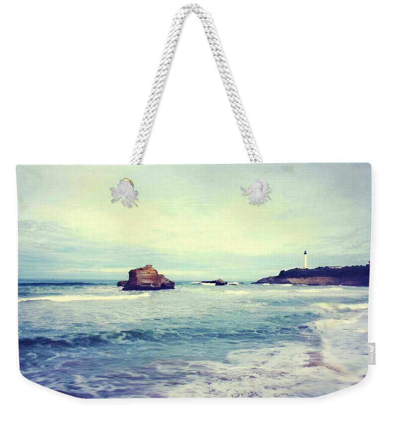Archachon Weekender Tote Bag featuring the photograph Arcachon by Angela King-Jones