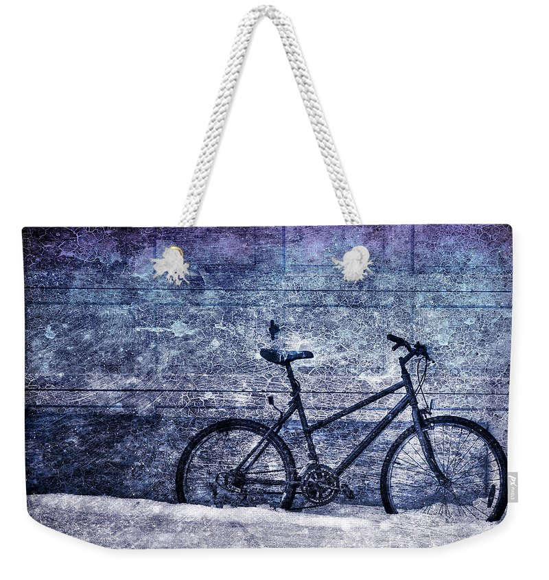 Bicycle Weekender Tote Bag featuring the photograph Bicycle by Evelina Kremsdorf