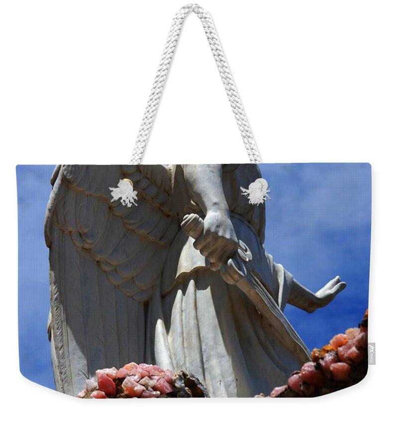 Angel Weekender Tote Bag featuring the photograph Big Angel Wings by Susanne Van Hulst