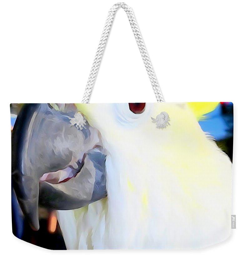 Digital Weekender Tote Bag featuring the photograph Big Beak Ben by Ed Weidman