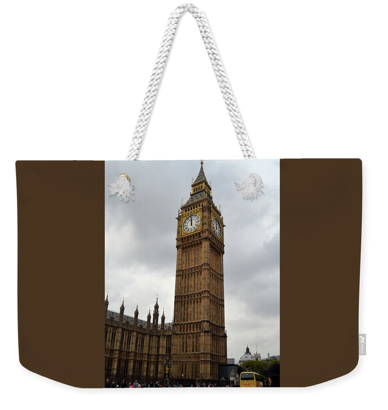 Big Ben Weekender Tote Bag featuring the photograph Big Ben by Dawn Crichton