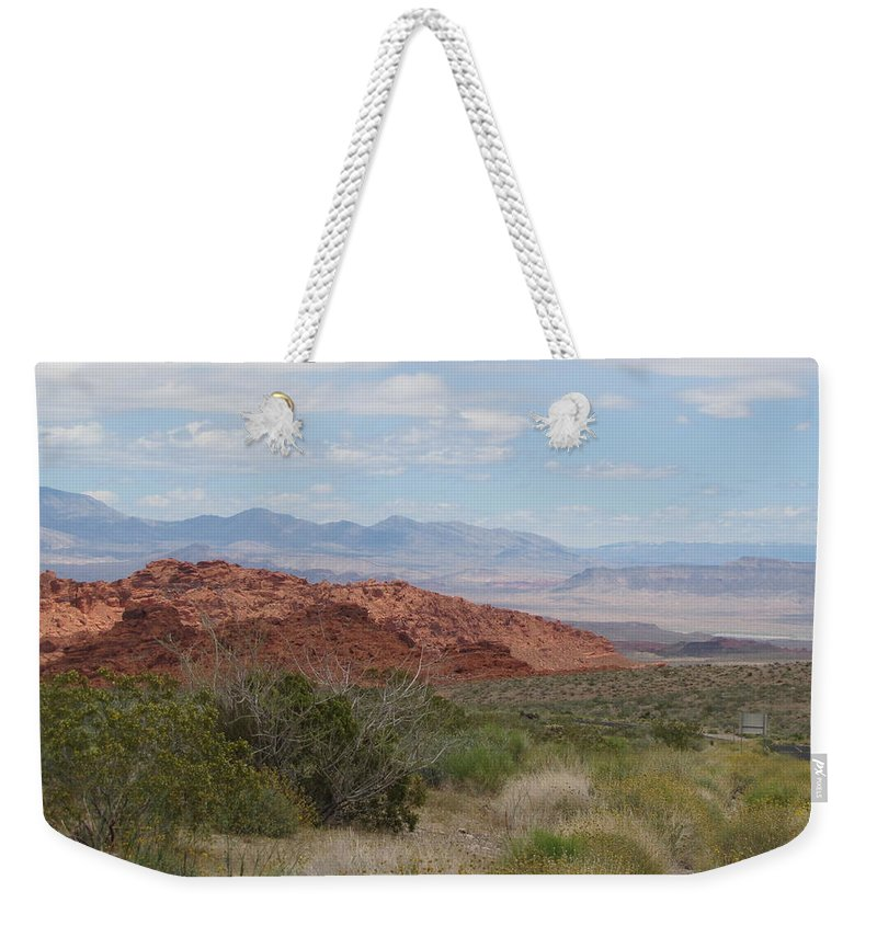 Mountain Weekender Tote Bag featuring the photograph Big Sky by Kelly Mezzapelle
