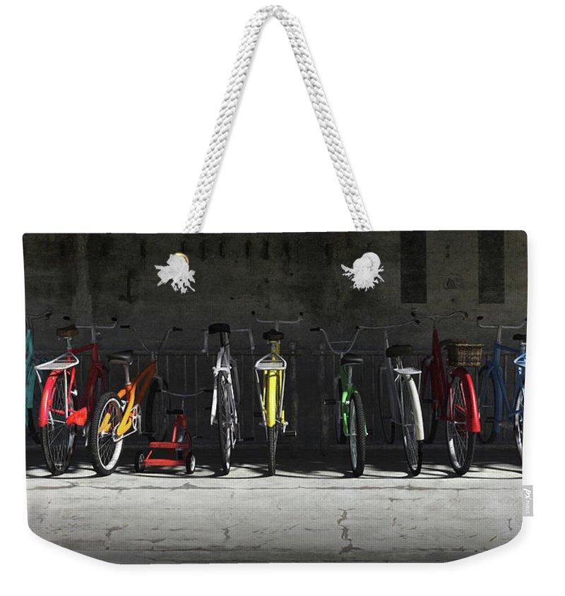 Cement Weekender Tote Bags