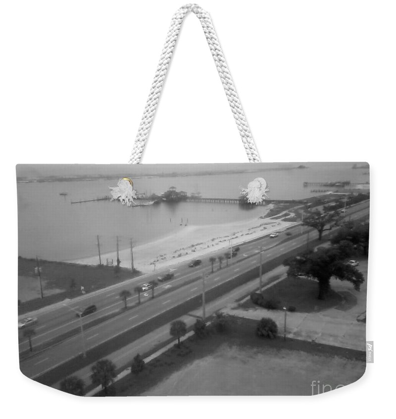Boat Weekender Tote Bag featuring the photograph Biloxi Memories by Joseph Baril