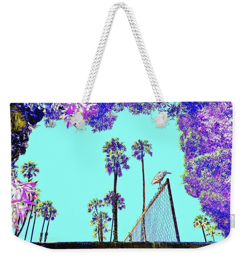 Landscape Weekender Tote Bag featuring the photograph Bird In Paradise by FlyingFish Foto
