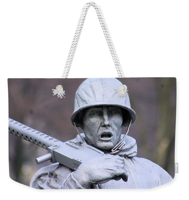 Bird Weekender Tote Bag featuring the photograph Bird On My Head by John S