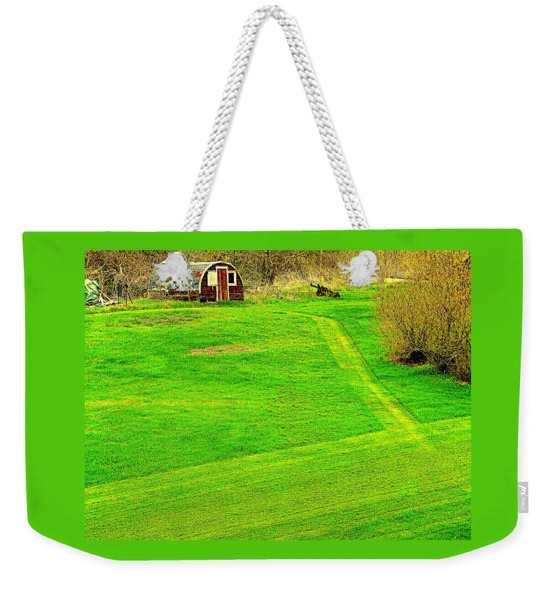 Shack Weekender Tote Bag featuring the photograph Birdland by Curtis Tilleraas