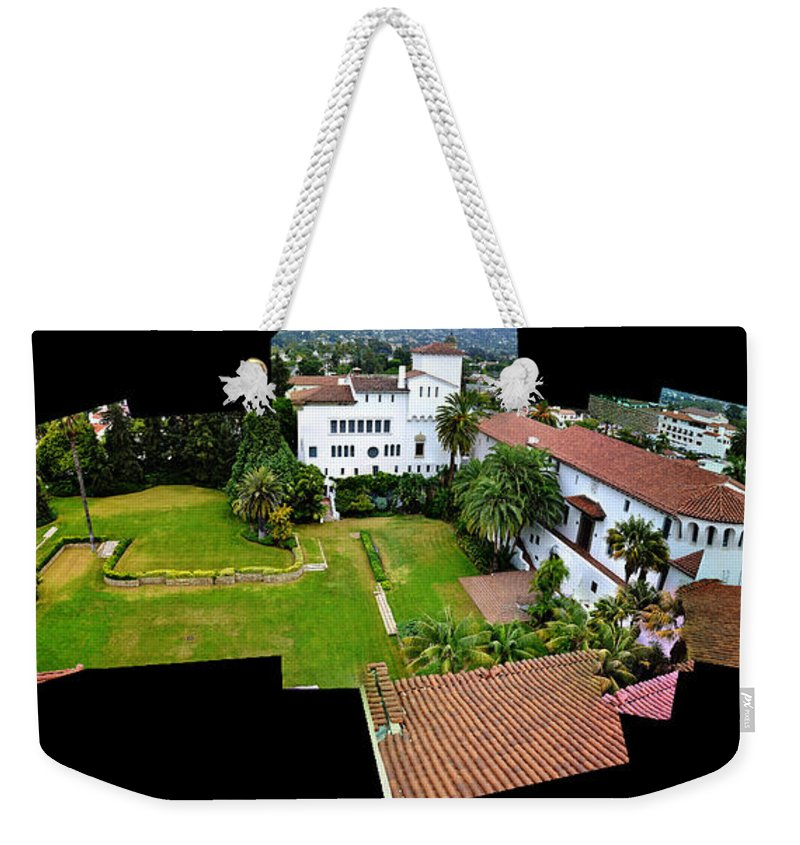 Clay Weekender Tote Bag featuring the photograph Birds Eye View by Clayton Bruster