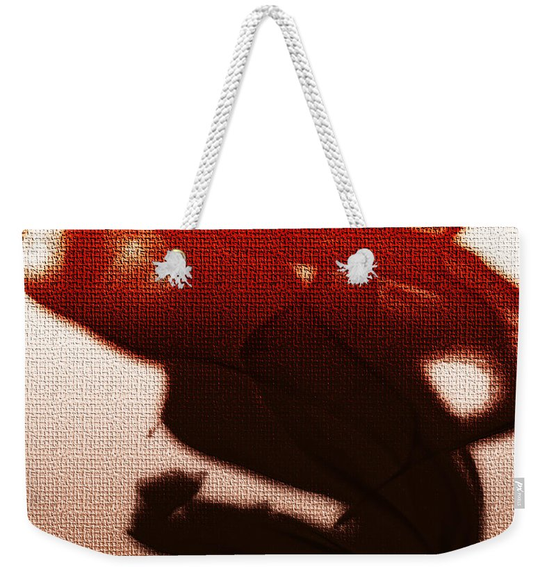 Clay Weekender Tote Bag featuring the digital art Birth Of A Dark Spirit by Clayton Bruster