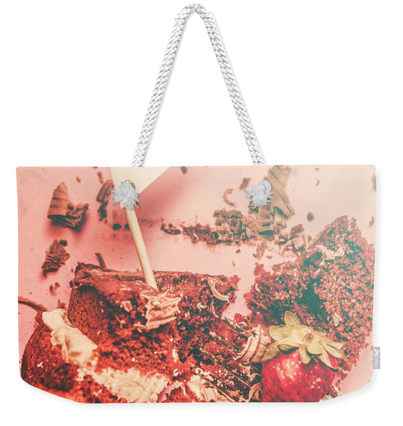 Dessert Weekender Tote Bag featuring the photograph Birthday Bash by Jorgo Photography - Wall Art Gallery