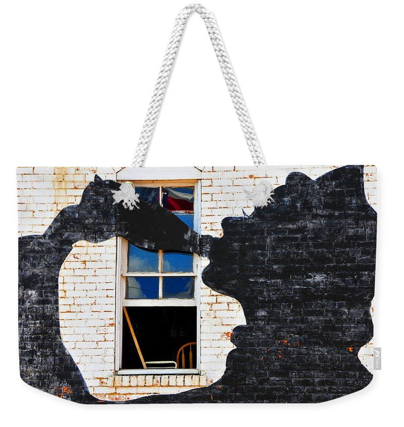 Photography Weekender Tote Bag featuring the photograph Black Betty by Skip Hunt