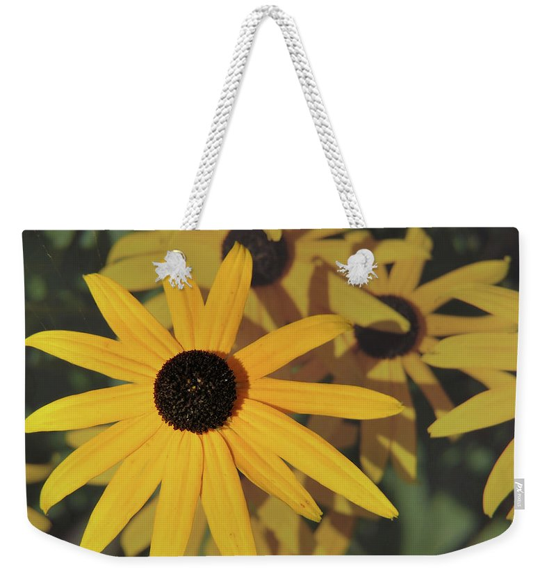 Flower Weekender Tote Bag featuring the photograph Black Eyed Susan by JAMART Photography