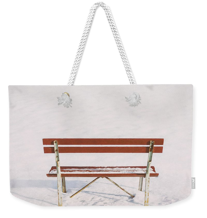 Scott Norris Photography Weekender Tote Bag featuring the photograph Blank Slate by Scott Norris