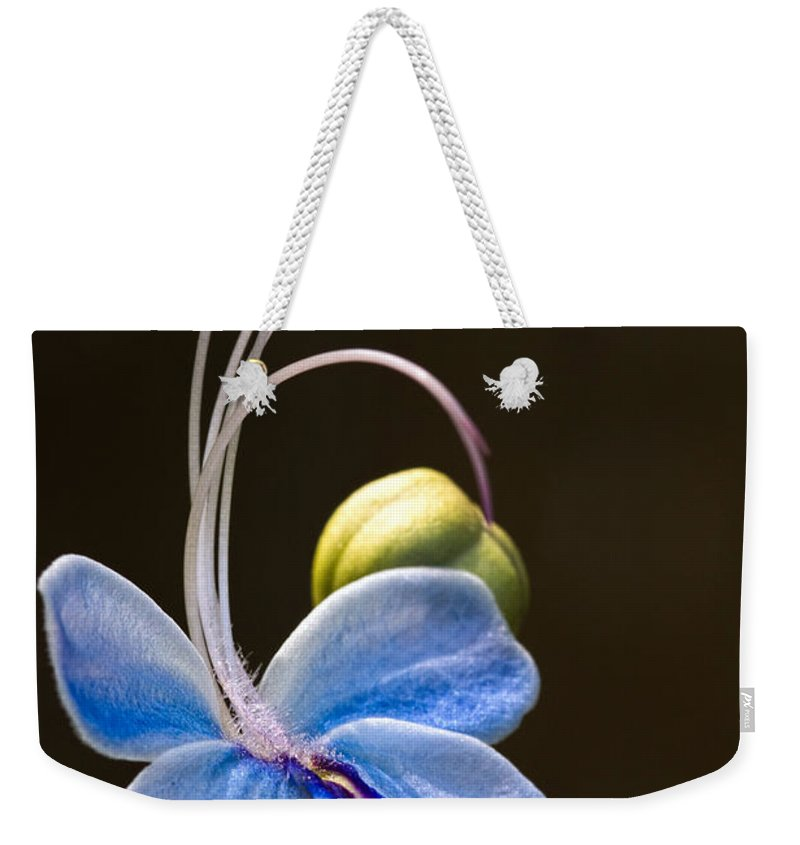 Flower Weekender Tote Bag featuring the photograph Blooming Butterfly by Christopher Holmes