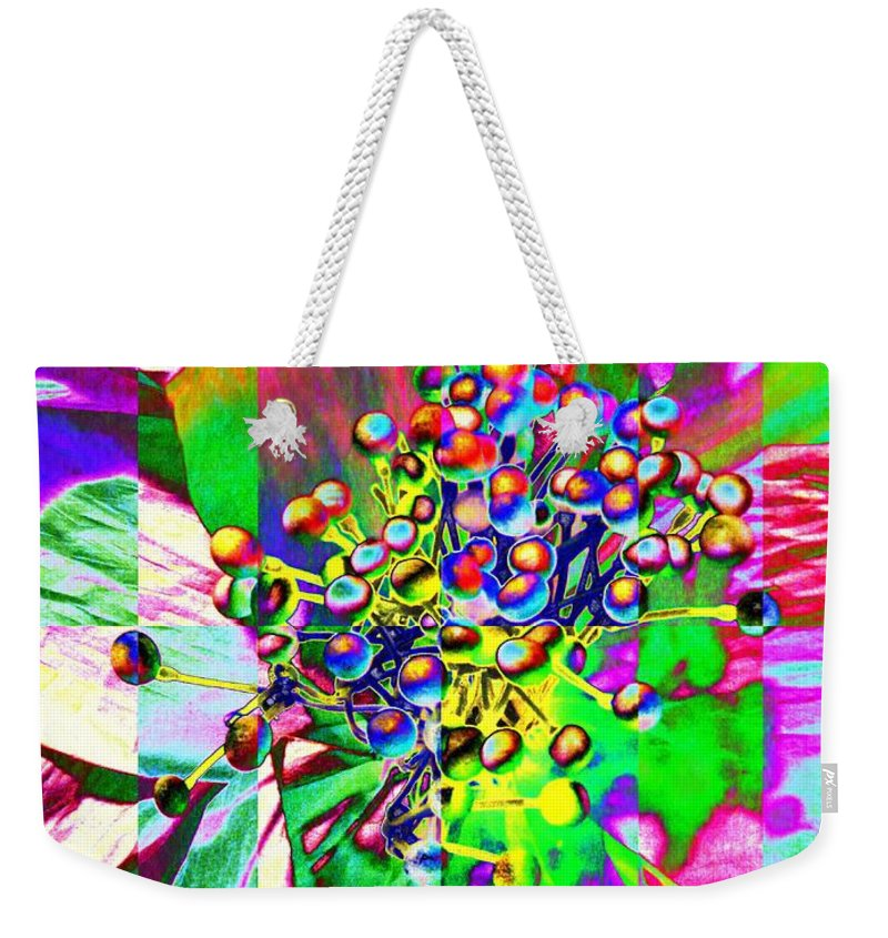 Bloom Weekender Tote Bag featuring the photograph Blooming Delightful by Tim Allen