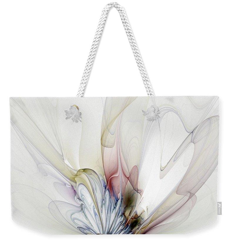 Digital Art Weekender Tote Bag featuring the digital art Blow Away by Amanda Moore