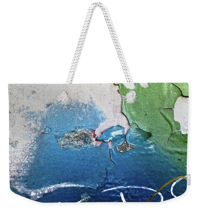Blue Weekender Tote Bag featuring the digital art Blue Bayou by Dan Reich