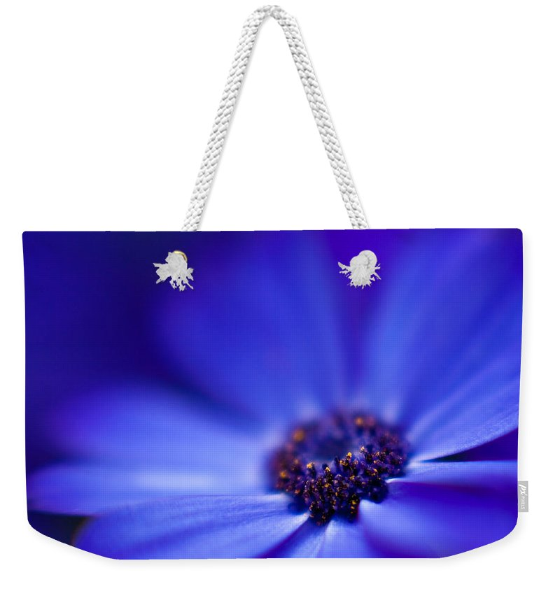 Blue Weekender Tote Bag featuring the photograph Blue by Mike Reid
