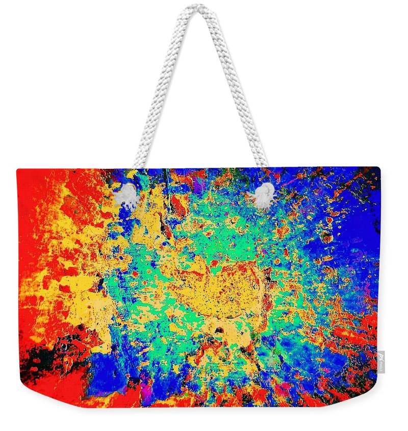Blues Alley Weekender Tote Bag featuring the photograph Blue Sally Blues Alley by David Coleman