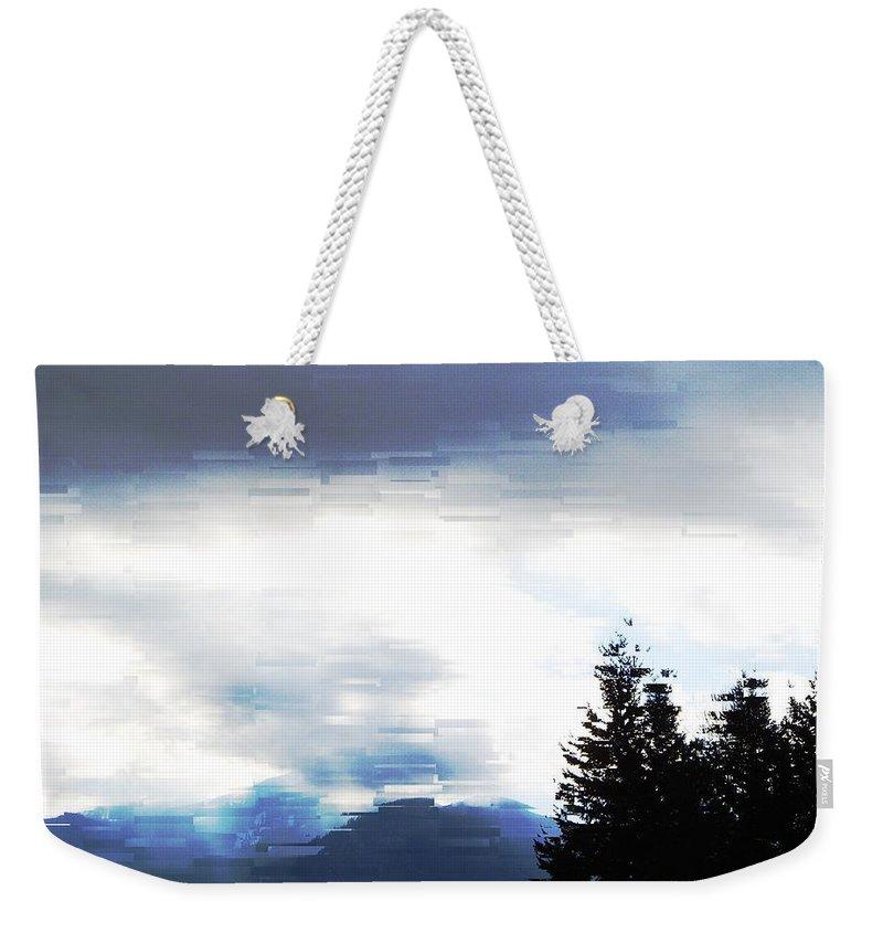 Skies Weekender Tote Bag featuring the photograph Blue Skies by Jeff Swan