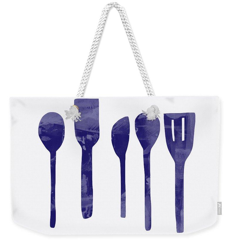 Spoon Weekender Tote Bags