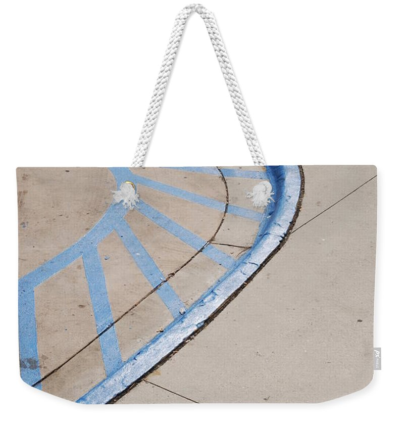 Blue Weekender Tote Bag featuring the photograph Blue Zone by Rob Hans