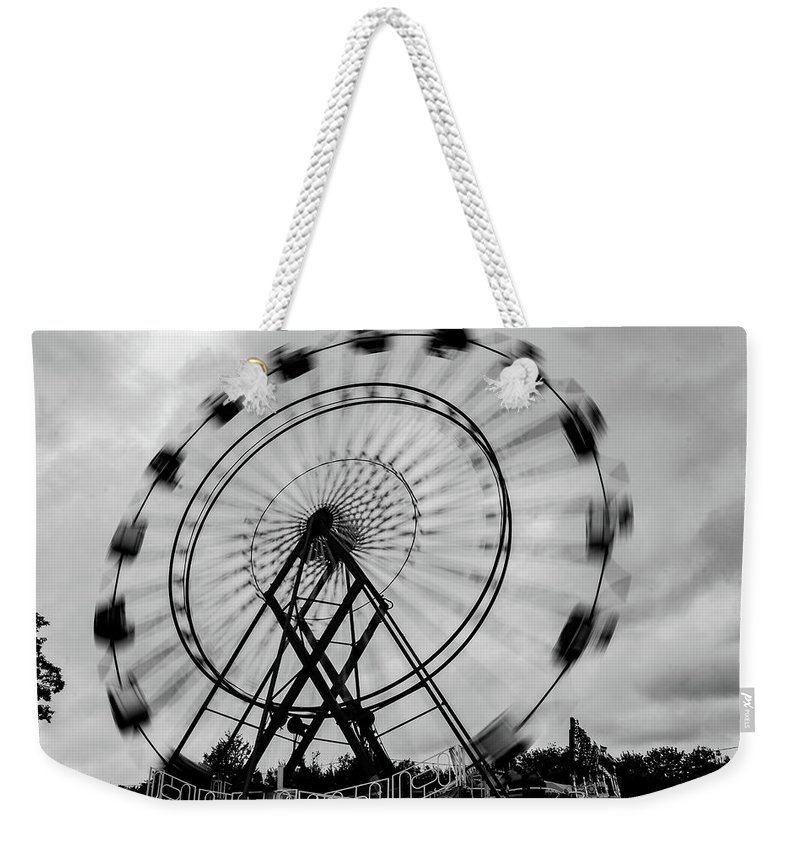 Blue Hill Weekender Tote Bag featuring the photograph Blur by John Gagnon