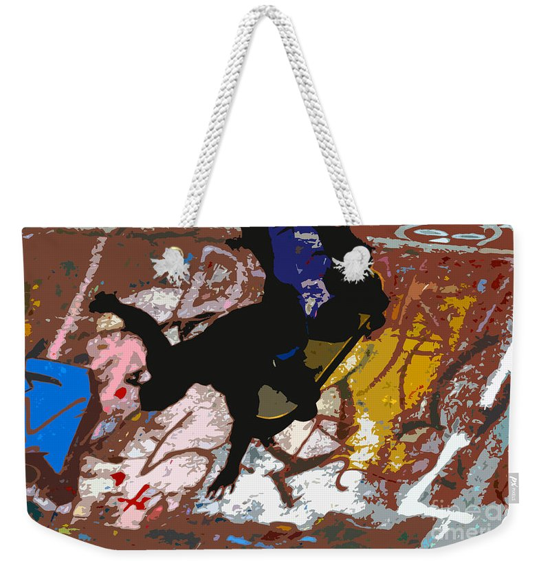Skate Board Weekender Tote Bag featuring the photograph Boarding High by David Lee Thompson