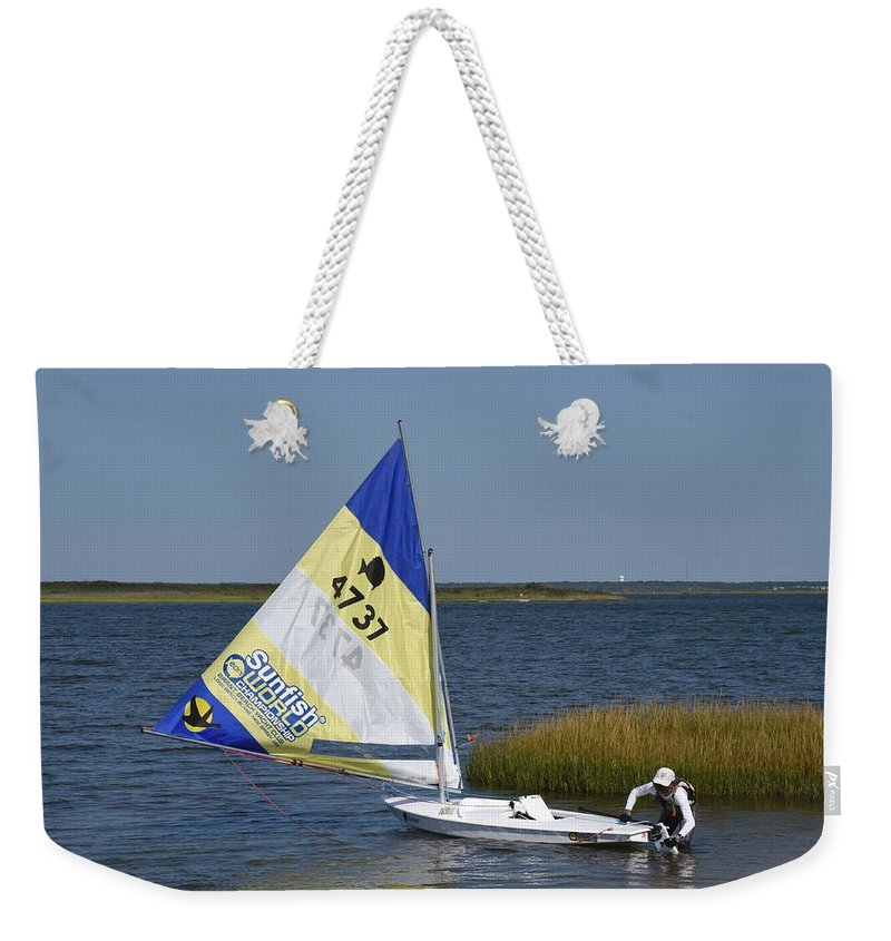 Boats Weekender Tote Bag featuring the photograph Boats 170 by Joyce StJames