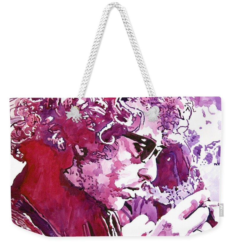 Bob Dylan Weekender Tote Bags