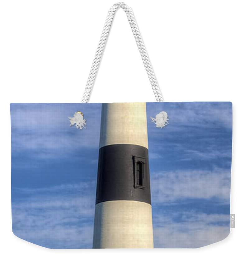 Bodie Island Lighthouse Weekender Tote Bag featuring the photograph Bodie Island Lighthouse II 2015 by Greg Reed