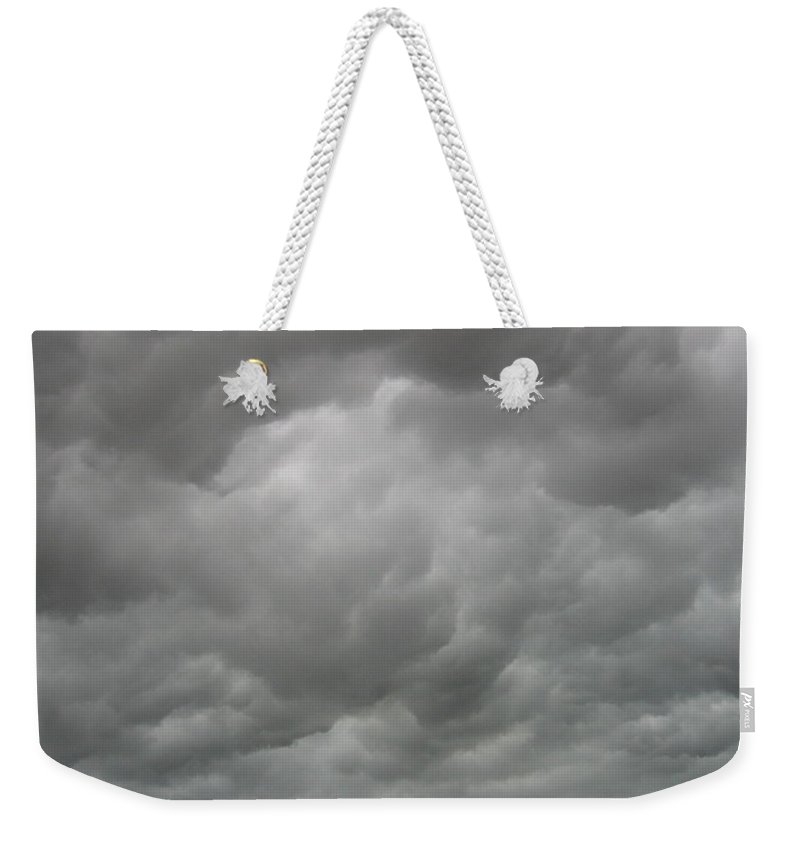 Clouds Weekender Tote Bag featuring the photograph Boiling Clouds by Amy Hosp