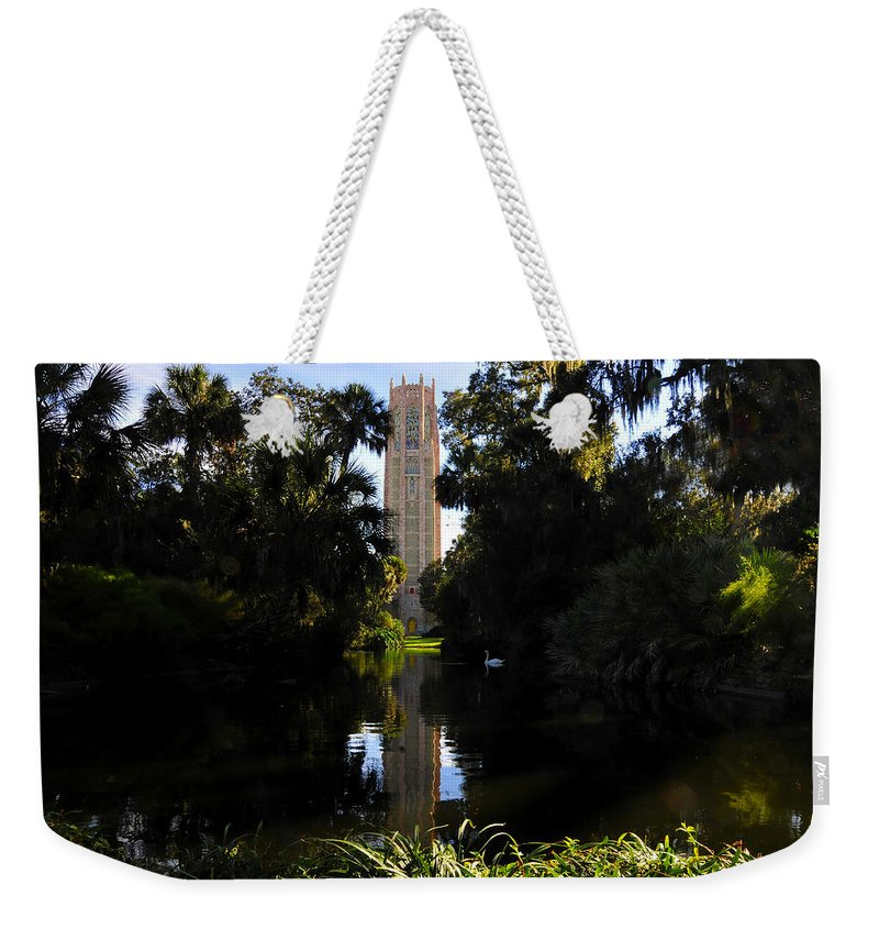 Bok Tower Gardens Florida Weekender Tote Bag featuring the photograph Bok Tower Gardens by David Lee Thompson