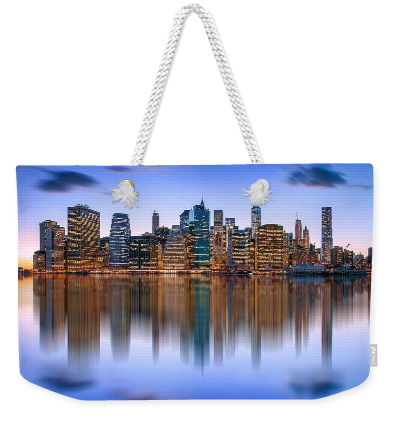 New York City Weekender Tote Bag featuring the photograph Bold And Beautiful by Az Jackson