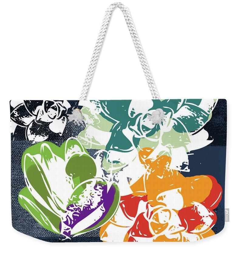 Cacti Weekender Tote Bags