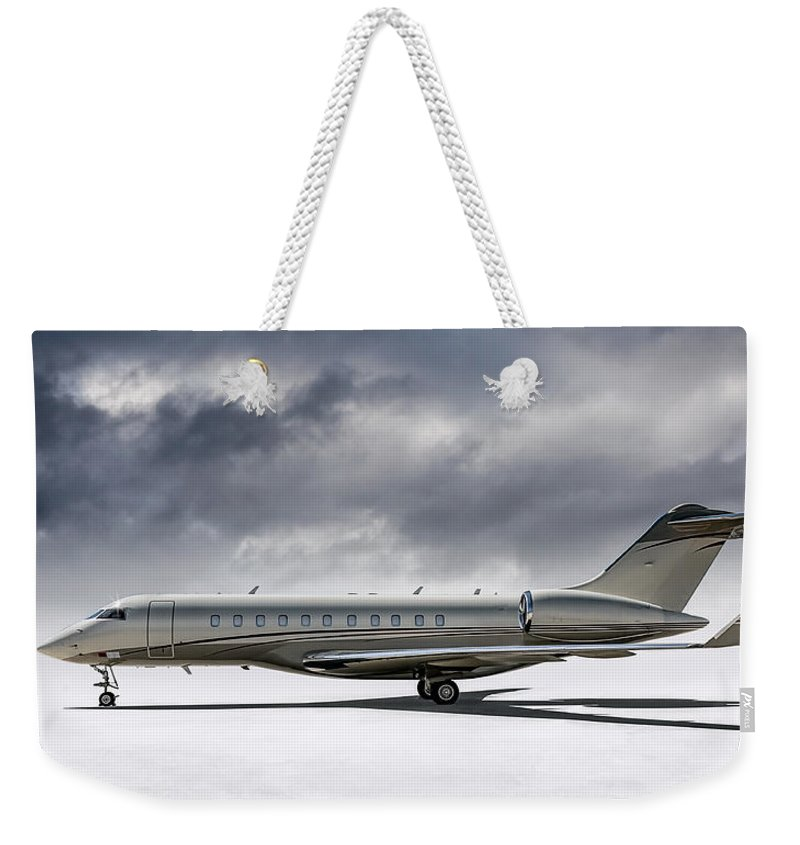 Jet Weekender Tote Bags