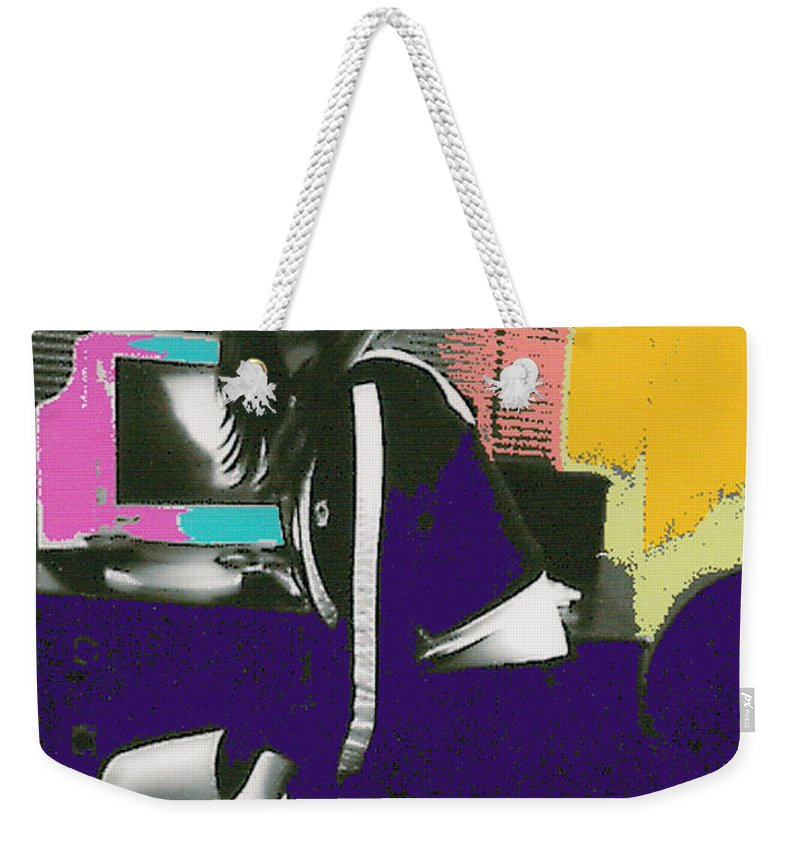 Young Girl Weekender Tote Bag featuring the photograph Bored... by Bjorn Sjogren