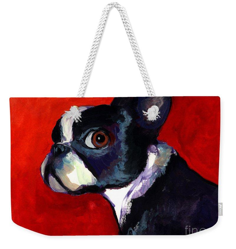 Impressionistic Weekender Tote Bags