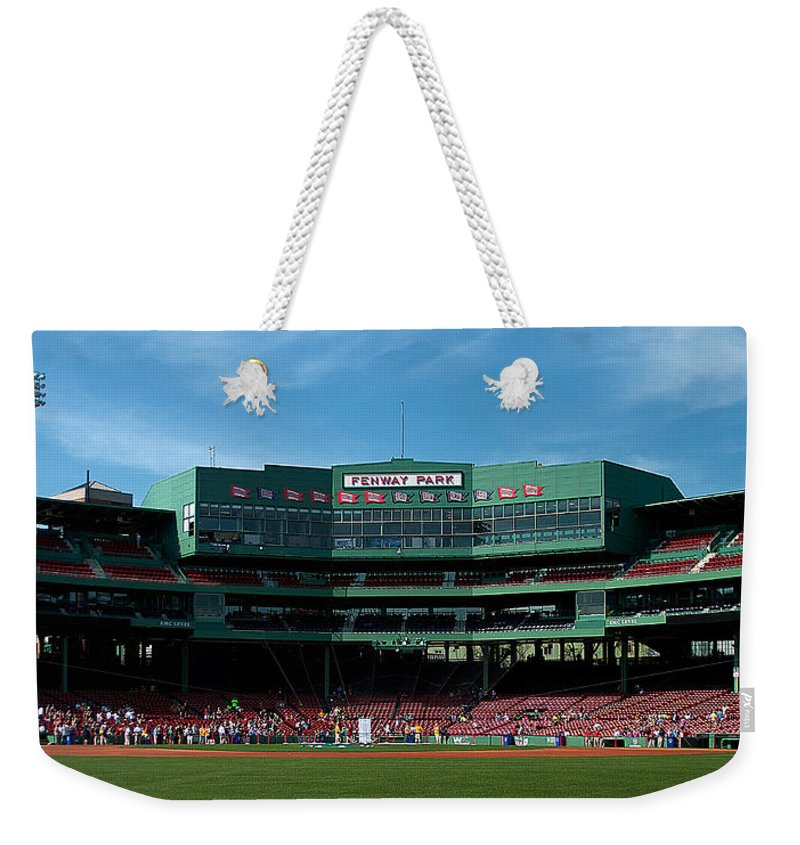 boston Red Sox Weekender Tote Bag featuring the Boston's Gem by Paul Mangold