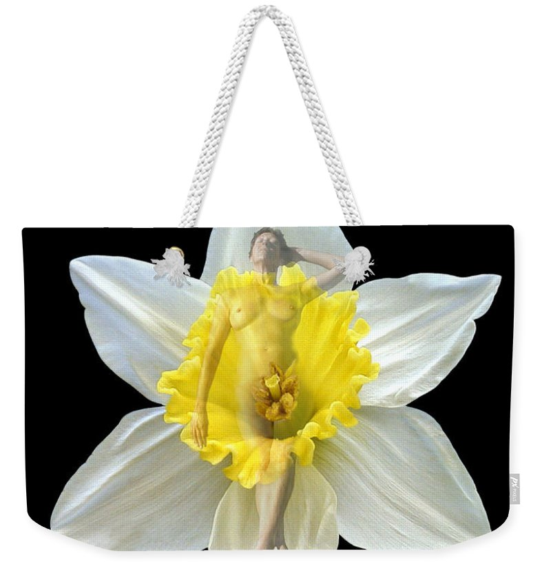 Nudes Weekender Tote Bag featuring the photograph Bouquet by Kurt Van Wagner