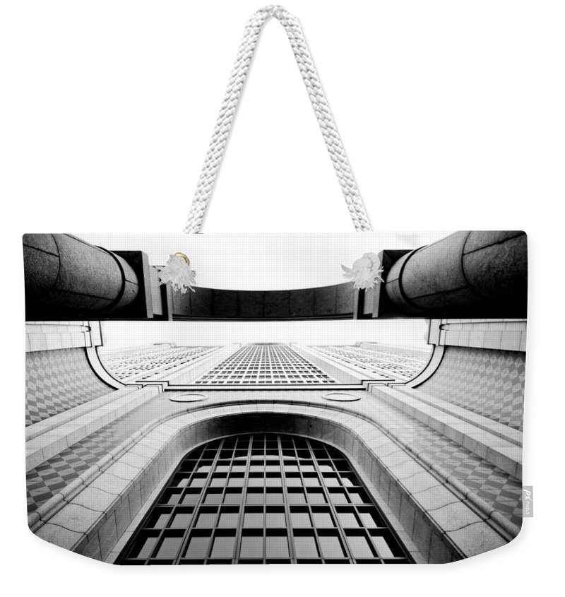 City Weekender Tote Bag featuring the photograph Boylston by Greg Fortier
