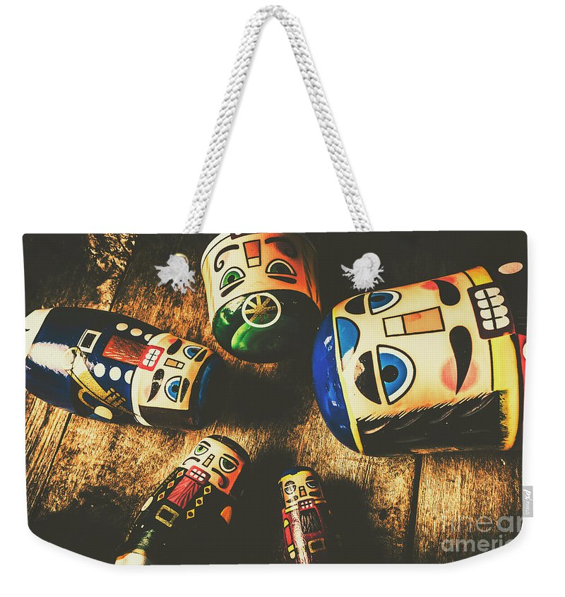 Still Life Weekender Tote Bag featuring the photograph Brainstorming Game by Jorgo Photography - Wall Art Gallery